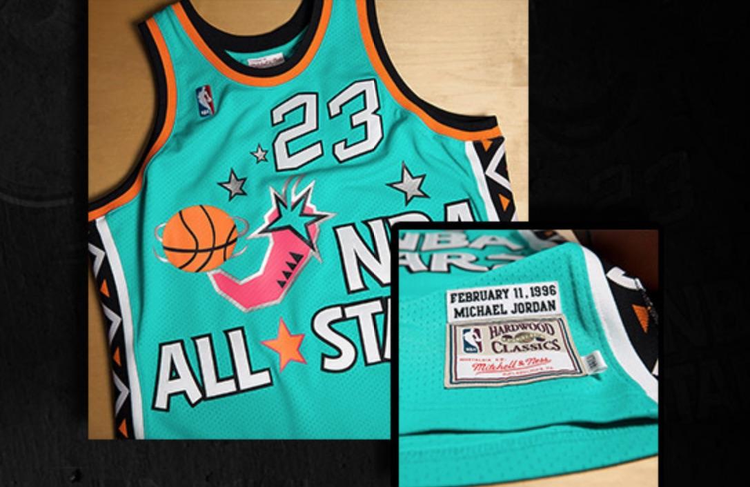 new style 9965b 7bbe9 bon plan] -23% sur les maillots Michael Jordan sur le NBA ...