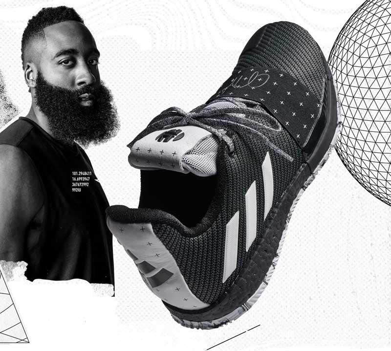 officiellement 3 et Harden La James présentée par adidas Harden Vol qtfqwT