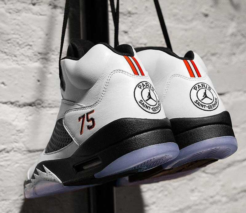 la meilleure attitude 4d2c3 dd2d3 Une Air Jordan 5 x PSG que vous ne pourrez pas acheter ...