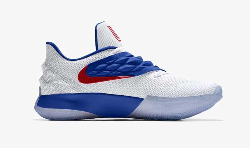 new concept ca877 481c8 Nike : la Kyrie 4 basse disponible à la personnalisation sur ...
