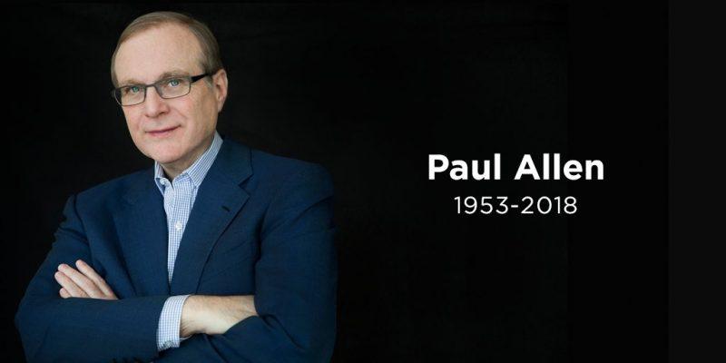 Paul Allen, co-fondateur de Microsoft, est décédé d'un cancer