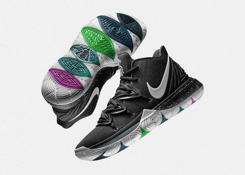 5fd55e732c73c ... Nike n avait pas touché à sa technologie Zoom Air. C est la Kyrie 5 qui  va apporter du changement. Officiellement présentée jeudi