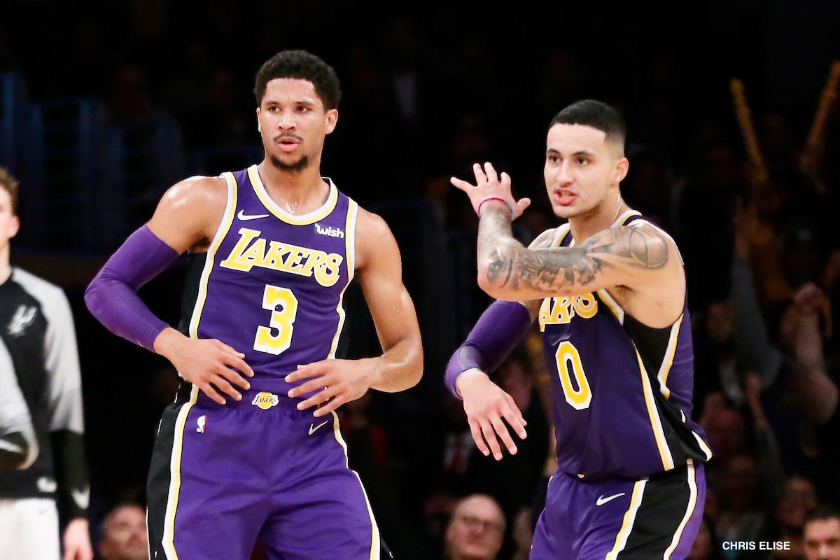 buy popular cc404 276ad Les Lakers ne lâcheront pas une jeune vedette pour récupérer ...