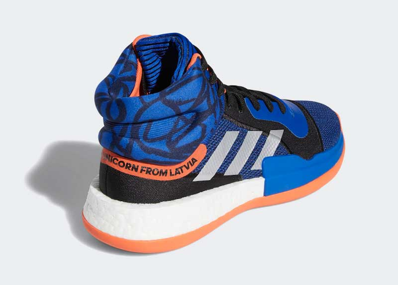 Adidas donne aussi une Marquee Boost à Kristaps Porzingis