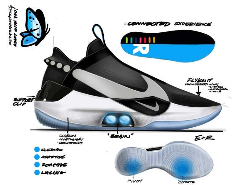 Basket Avec De La Chaussure Bb Tatum Adapt Va Jayson Jouer Une Nike UpPt6pq