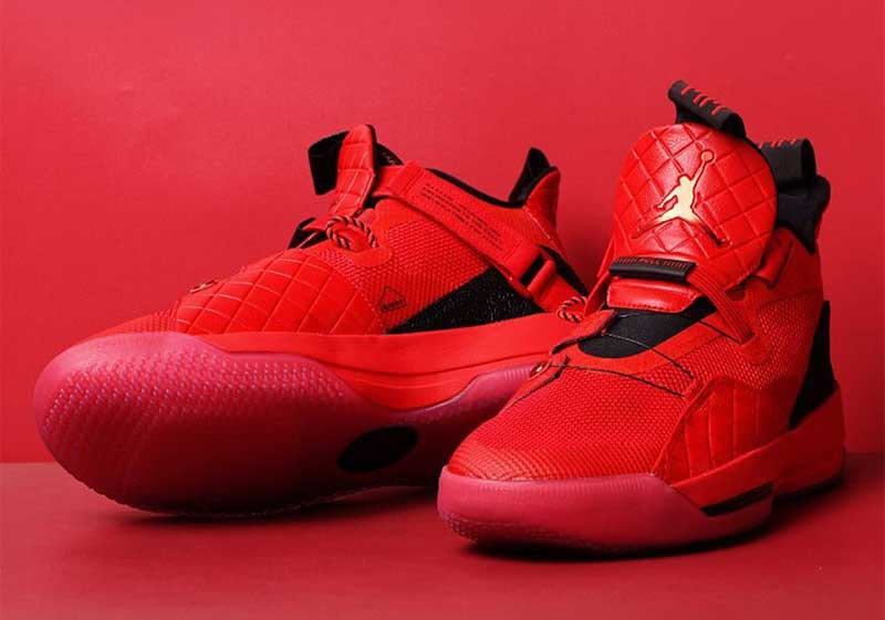 Rouge 33 Pour Usa Total La Jordan Basket Air