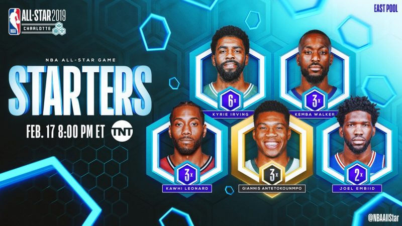 All-Star Game 2019 : les highlights des titulaires de la ...
