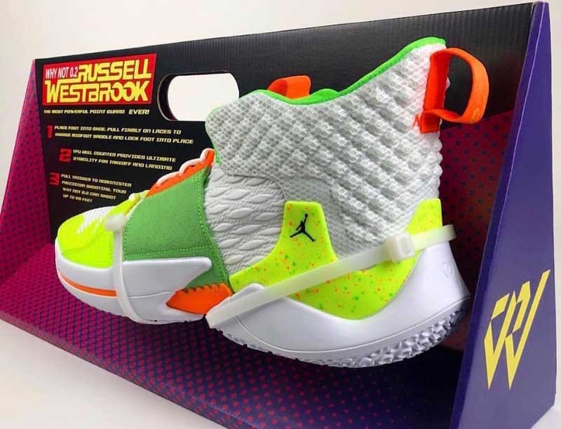 Jordan Brand : une Why Not Zer0.2 dans un packaging Super