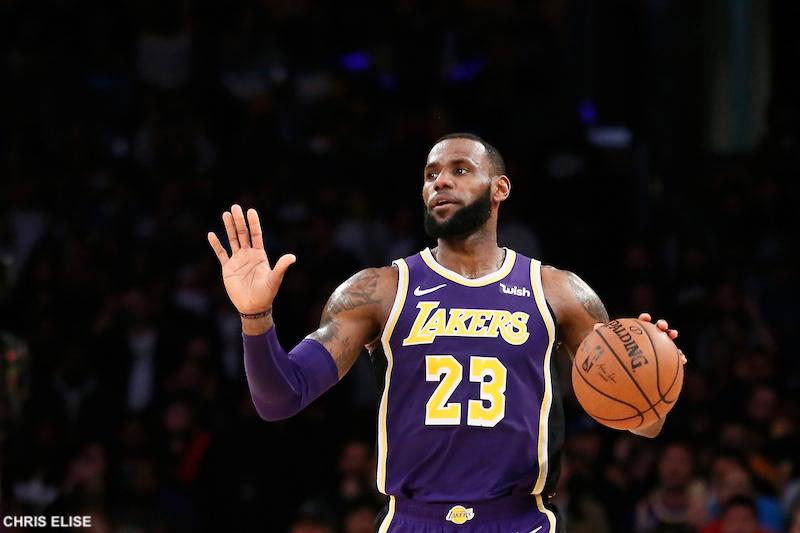bas prix a8616 bc6d6 La course au MVP : LeBron James et le poids des ans | Basket USA