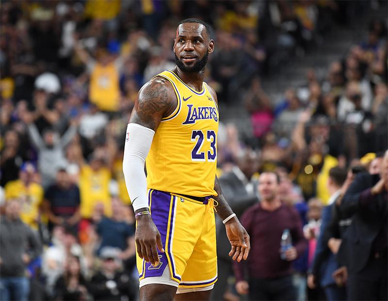 détaillant en ligne eeae5 525d7 LeBron James a activé le « mode playoffs » | Basket USA