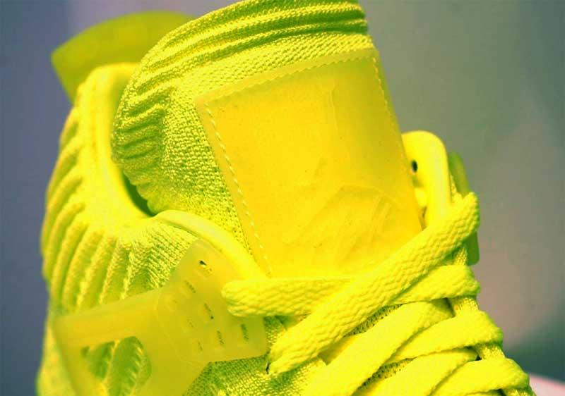 air jordan jaune fluo