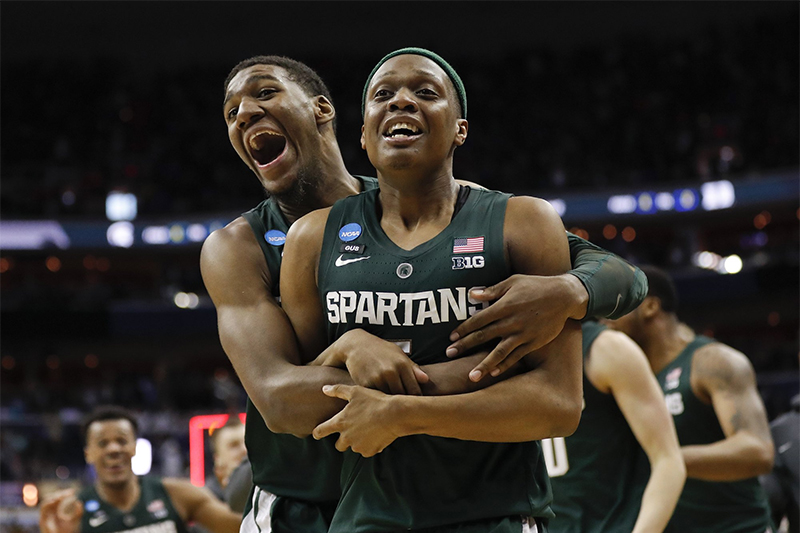 NCAA : Michigan State élimine Duke et jouera le Final Four