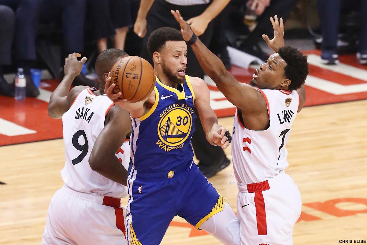 4265cdbe2e26f La défense de Toronto a frappé fort la nuit dernière mais les Warriors se  veulent optimistes.
