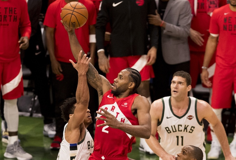 Image result for raptors Bucks 2019 Playoffs Game 5 Fred VanVleet