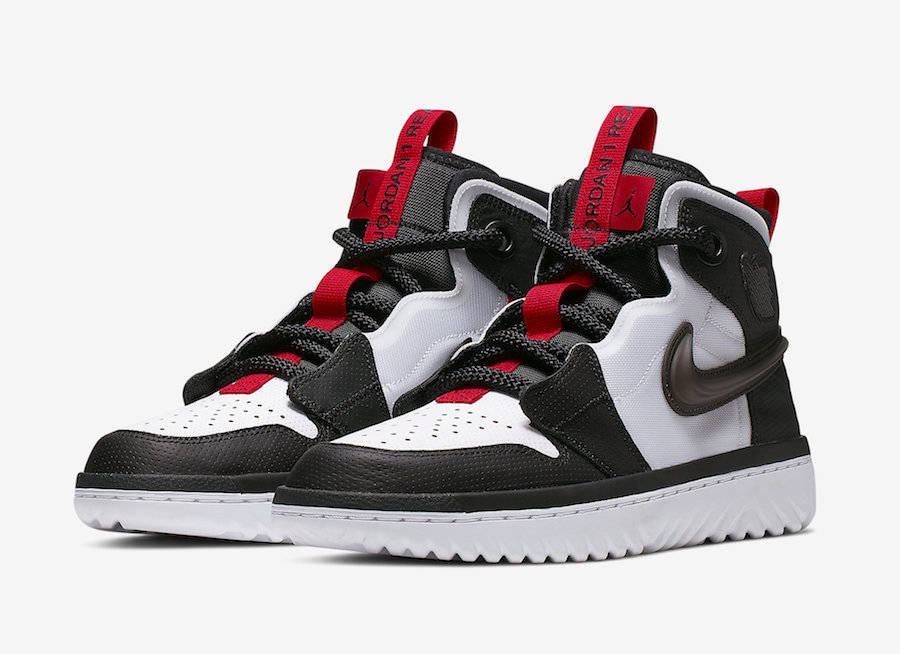 La Air Jordan 1 sort en version High React | NBA | Basket USA