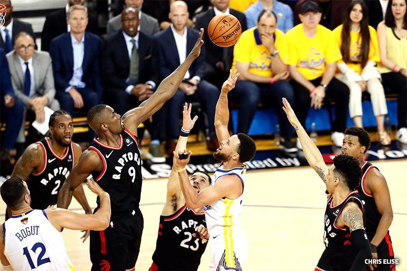 Les Raptors à un match du titre de champion de la NBA!