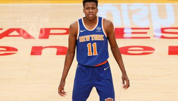 Frank Ntilikina toujours heureux d'être un joueur des Knicks