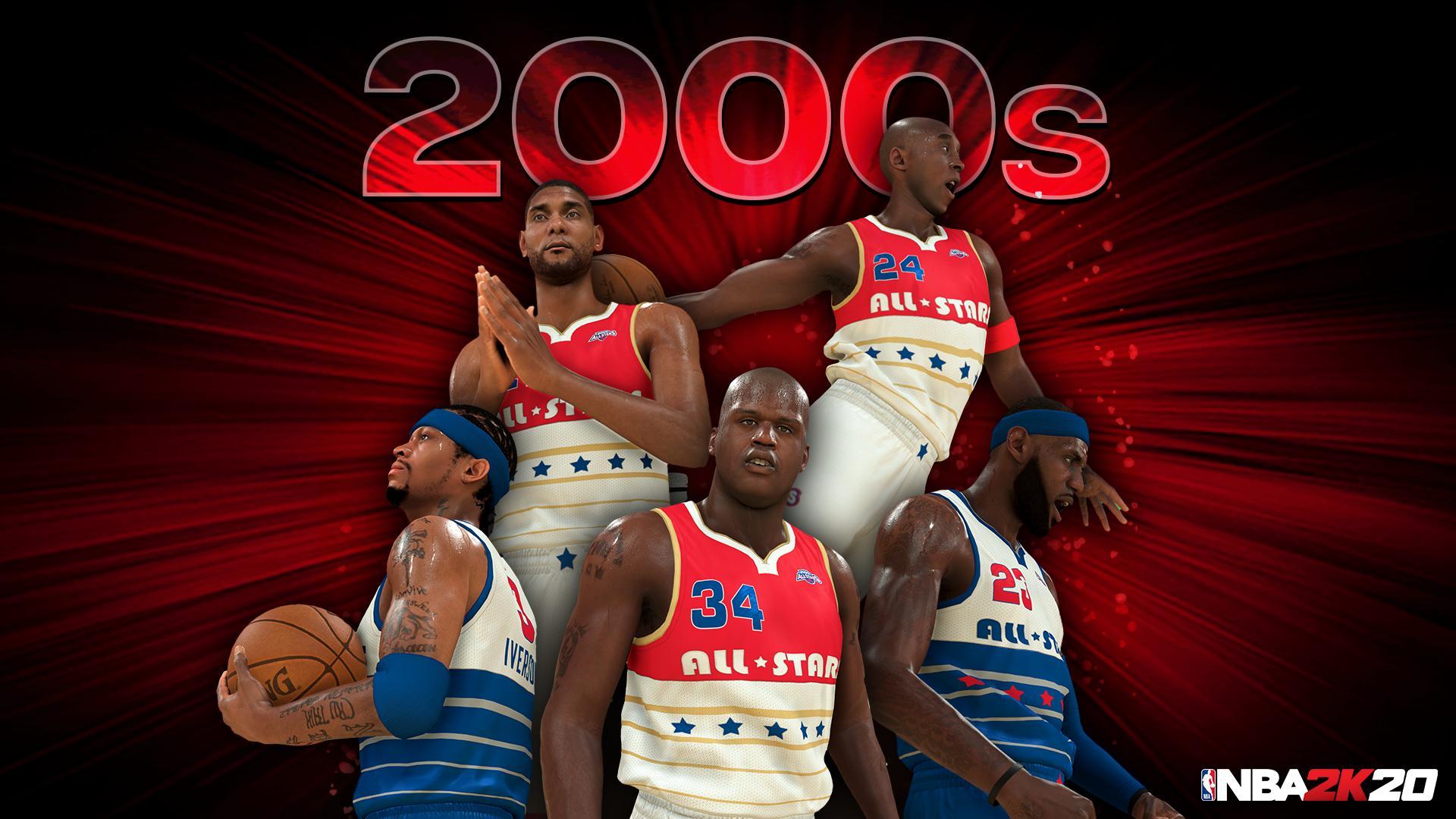 la meilleure attitude f5da4 13c4c NBA 2K20 : les meilleures équipes de chaque décennie ...