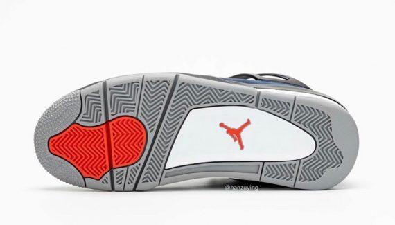 La Air Jordan 4 se couvre pour l'hiver