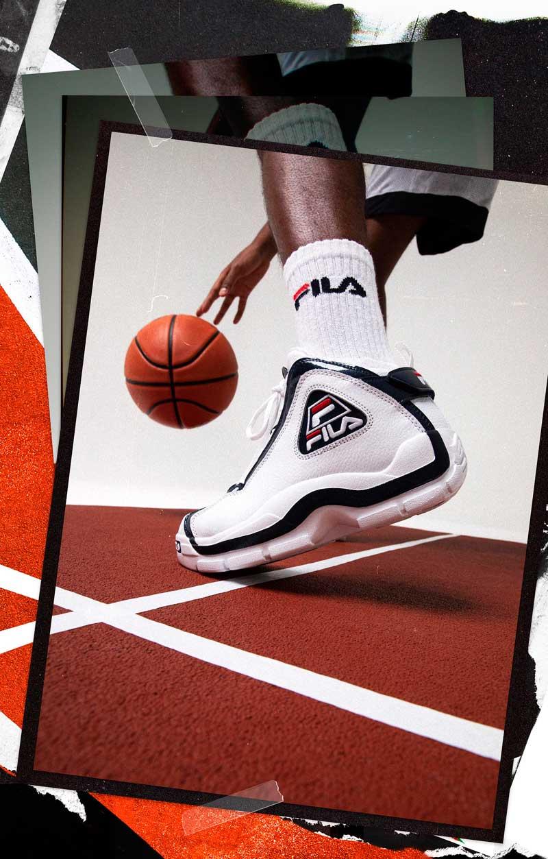 La Fila Grant Hill II enfin en France   Basket USA