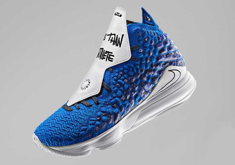 Nike : au tour de la LeBron 17 d'avoir sa version