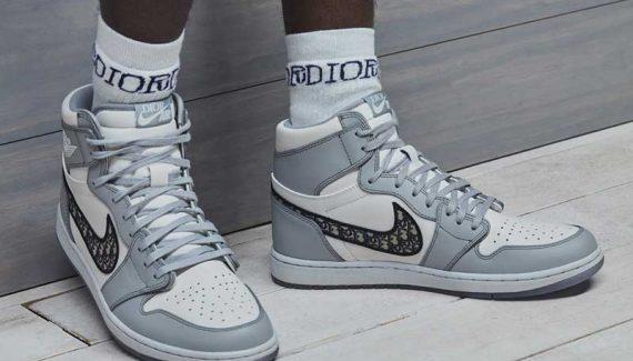 La « Air Dior » sera grise et blanche