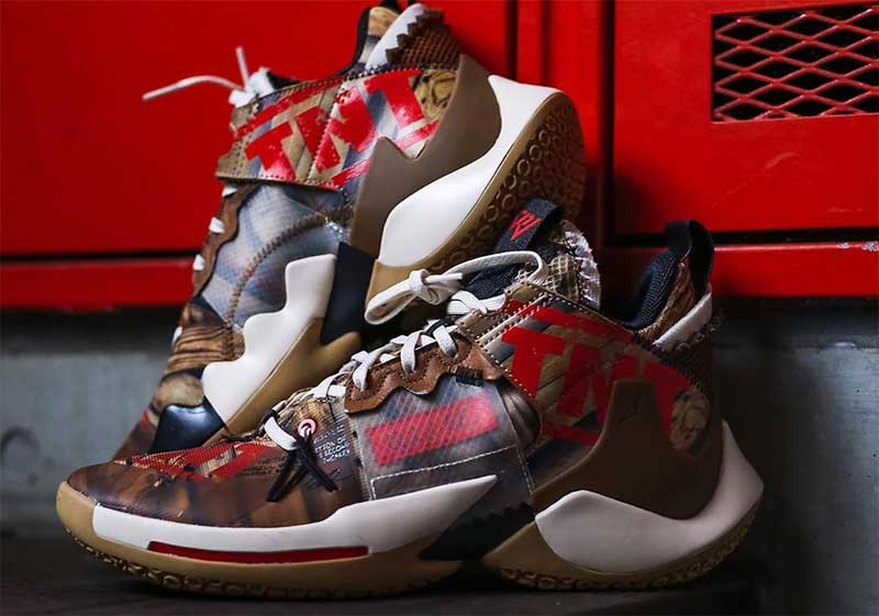 Jordan Brand : une Why Not Zer0.2 explosive | Basket USA