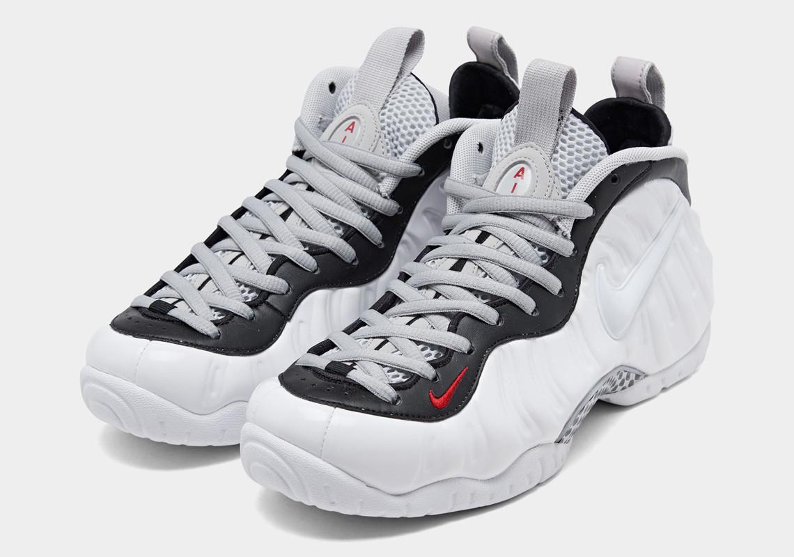 Nike : une Foamposite Pro bien classique et bien rétro
