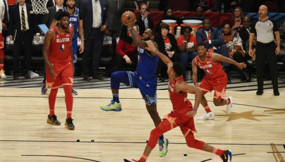 Le nouveau format du All-Star Game reçu 5 sur 5