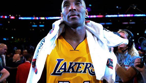Une serviette de Kobe Bryant vendue 33 000 dollars aux enchères
