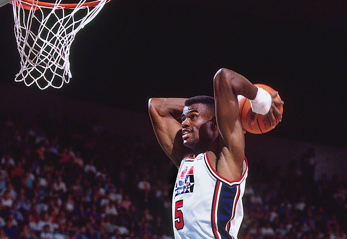 David Robinson recadre Isiah Thomas   Basket USA