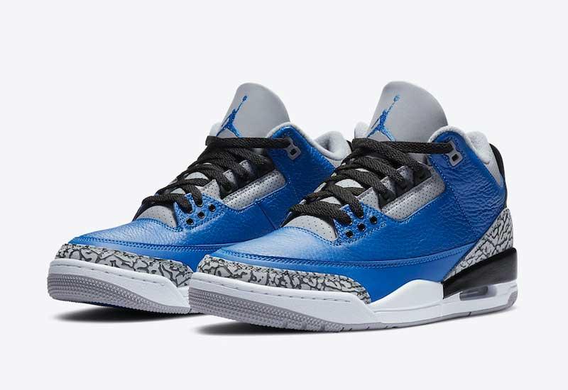 Jordan Brand : un nouveau coloris bleu pour la Air Jordan 3 | NBA ...
