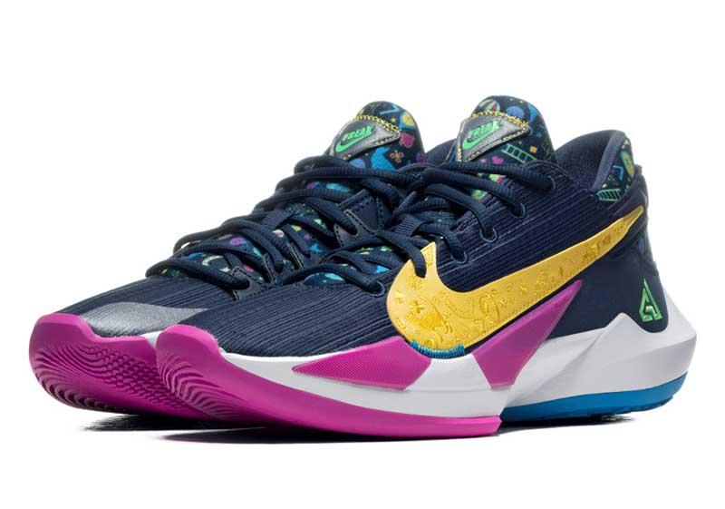 Nike : du dessin et des couleurs sur la Zoom Freak 2 | NBA ...