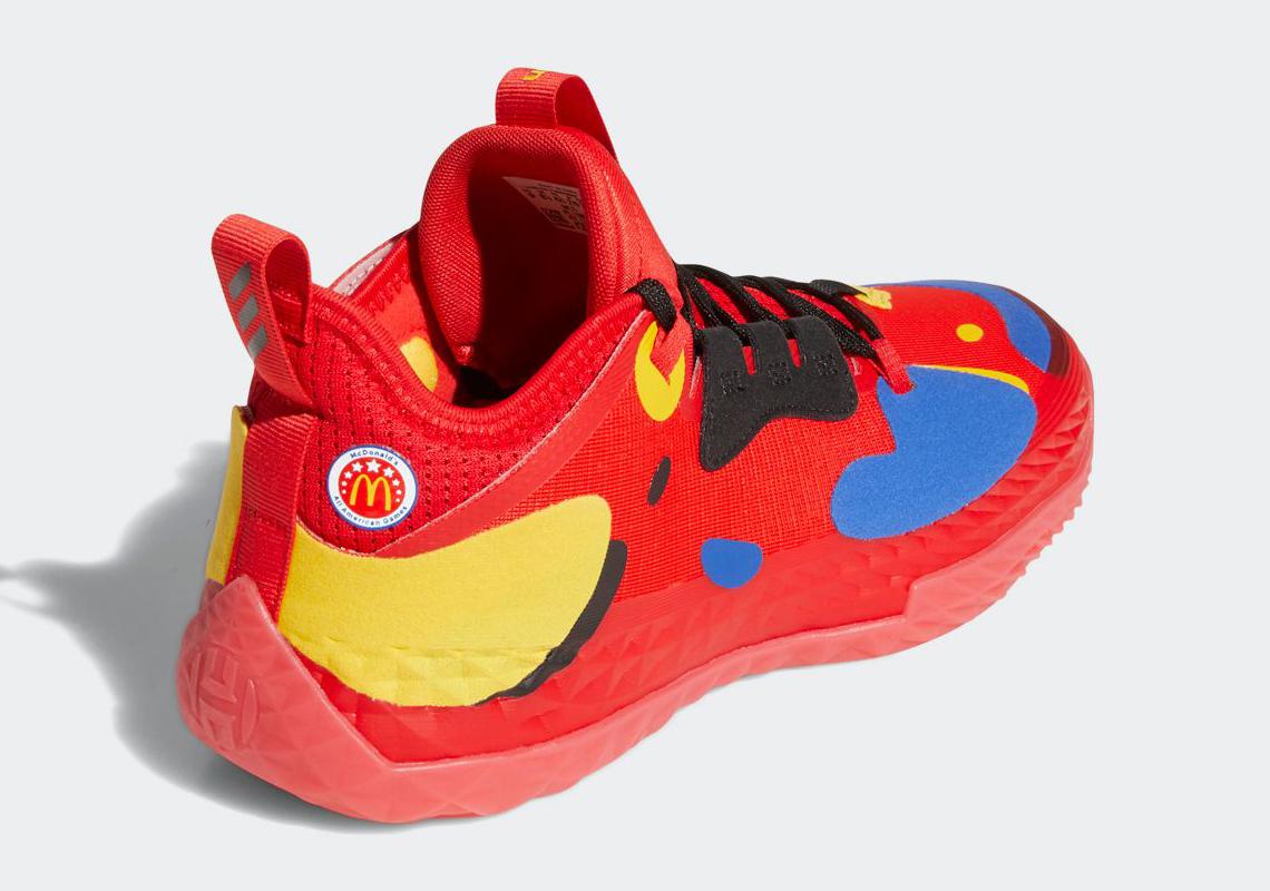 Les chaussures de James Harden aux couleurs de McDonald's… et des ...