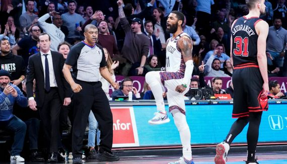 Kyrie Irving toujours absent des terrains