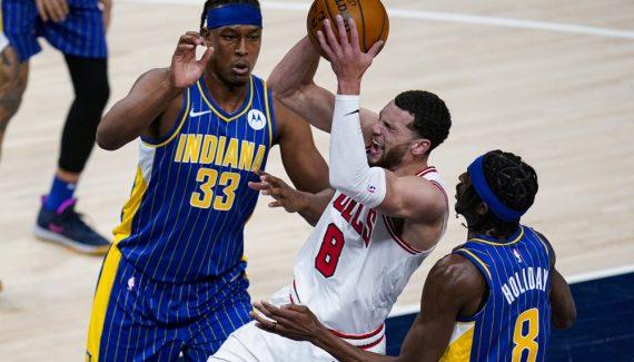 Après prolongation, les Bulls arrachent la victoire à Indiana - BasketUSA