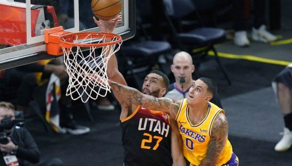 En démonstration, le Jazz gifle les Lakers et envoie un message au reste de la NBA - BasketUSA