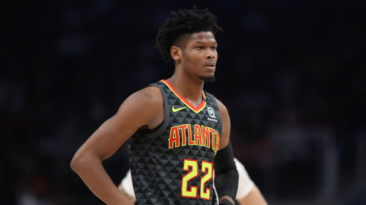 Are the Hawks listening to Cam Reddish's affords?     NBA