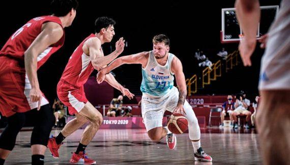 Sans forcer, Luka Doncic donne la leçon au Japon et envoie la Slovénie en quart de finale