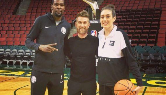 Kevin Durant et Breanna Stewart soudés par leur blessure au tendon d'Achille