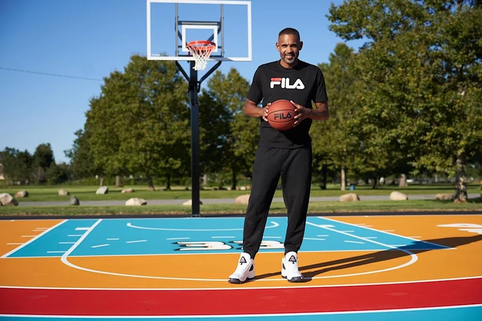 Fila and Grant Hill Meet to Renovate the Playground in Detroit |  NBA