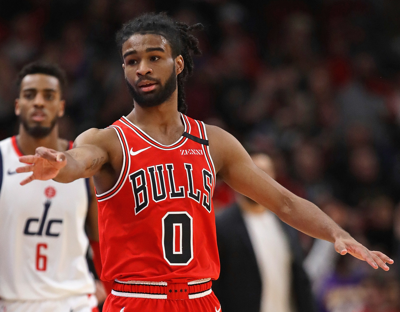 Coby White takes his damage with philosophy    NBA