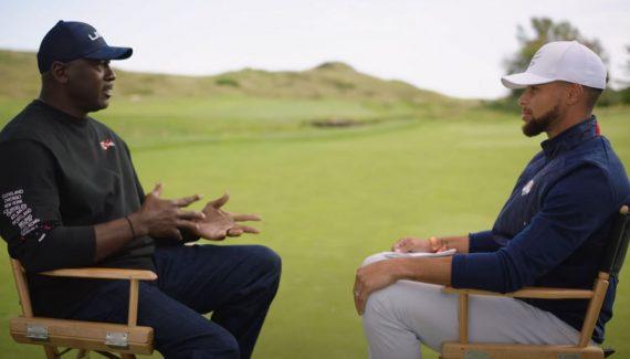 Quand Michael Jordan et Stephen Curry dressent des parallèles entre le golf et le basket