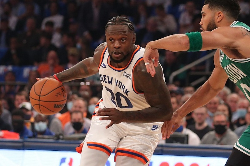Too excited about victory over Celtics; Julius Randle fined |  NBA