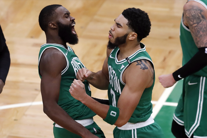 Ime Udoka desires a 'mounted' high 5 for the Celtics    NBA
