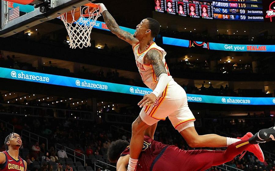 John Collins; the new benchmark for poster dunks    NBA
