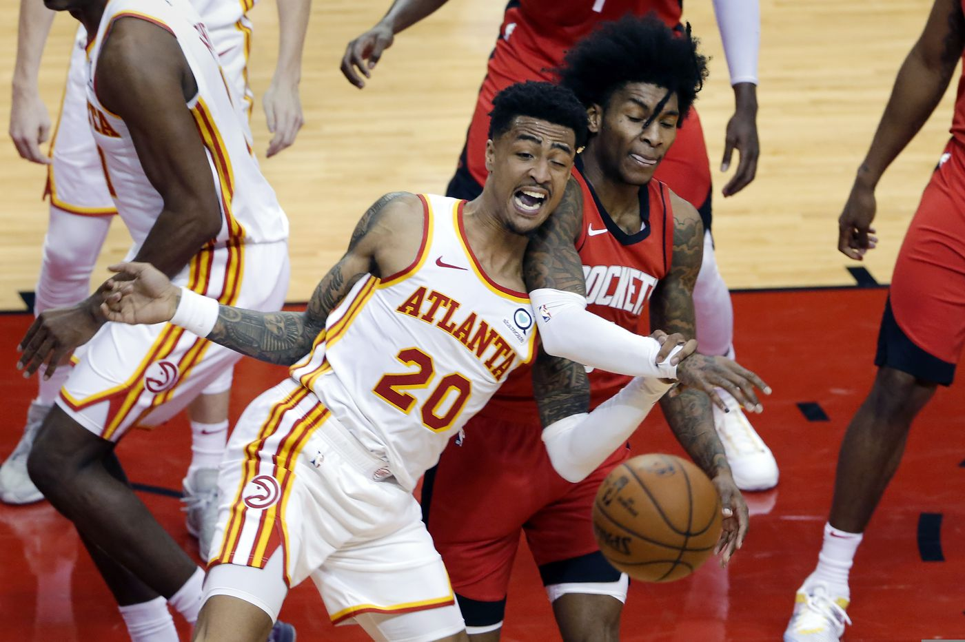 The very ambitious John Collins    NBA