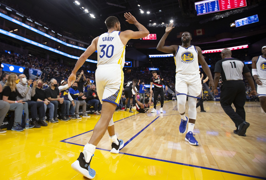 Preseason    Stephen Curry hits the Blazers with 41 factors    NBA