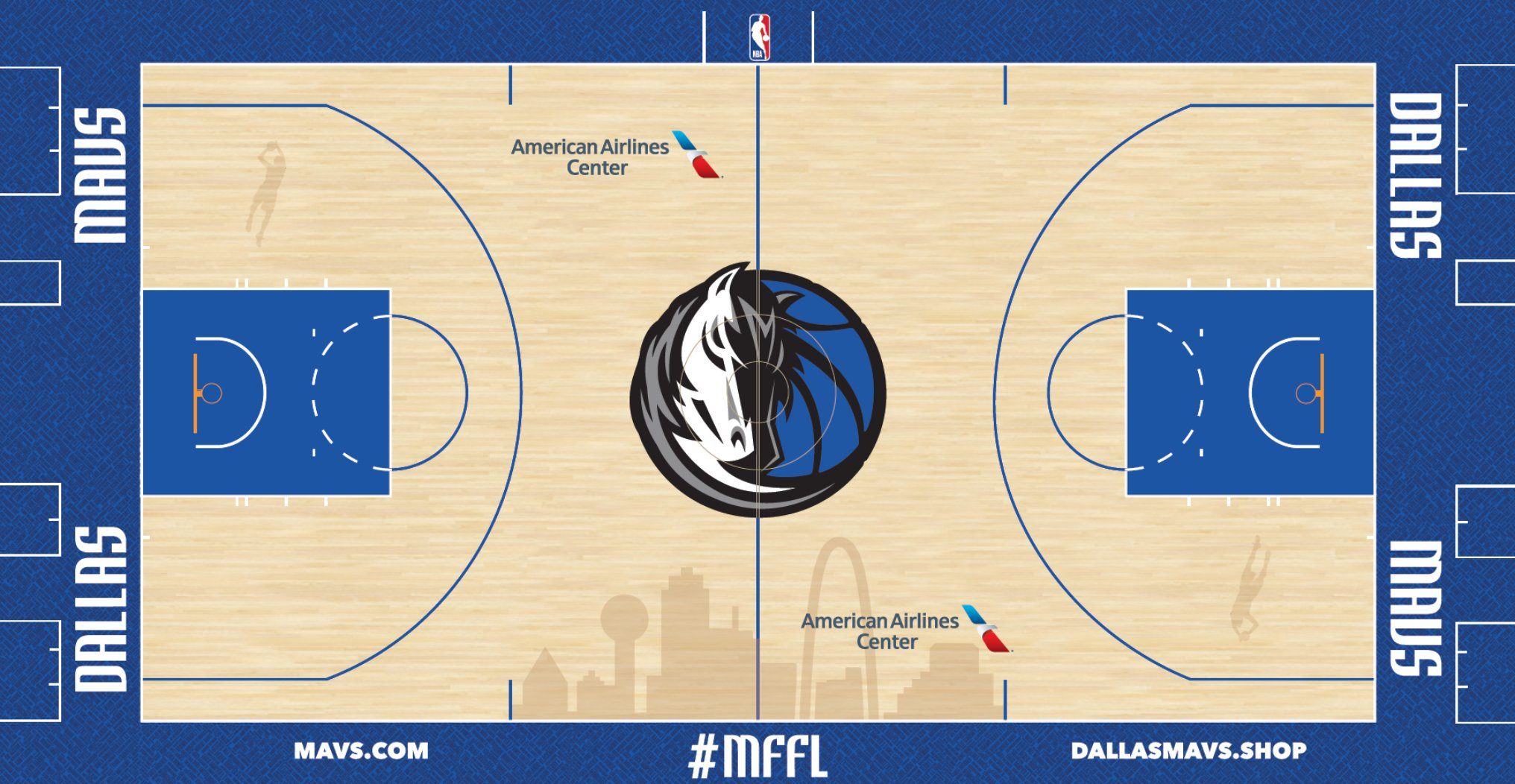 In Dallas; the Names of 337 Gamers in Mavericks Historical past Will Be Written on the Discipline    NBA