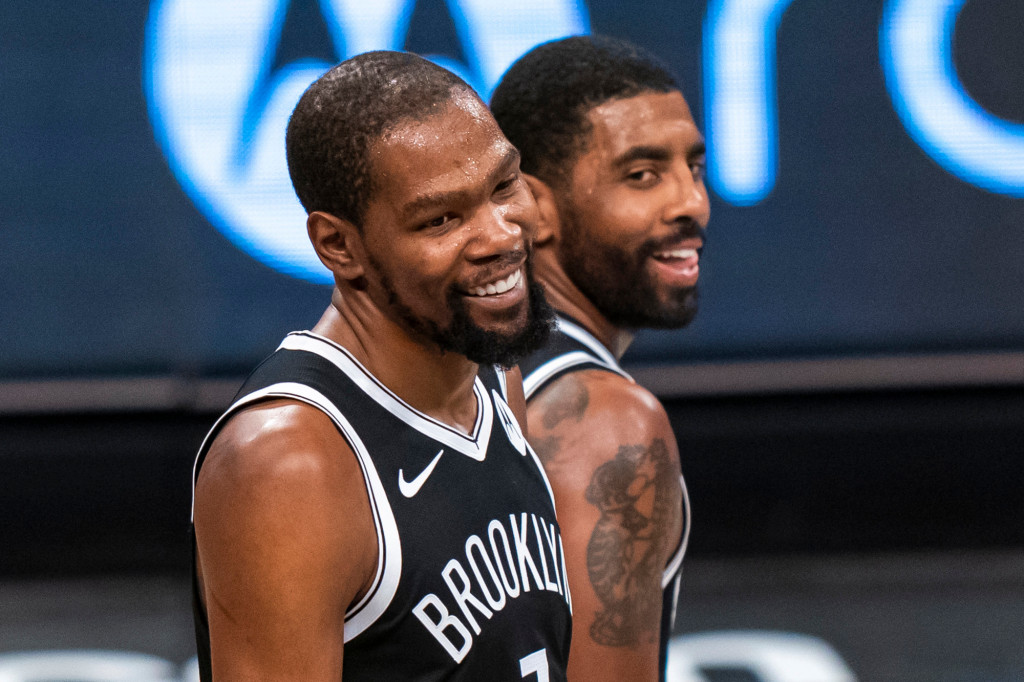 Kevin Durant Stays Constructive About Kyrie Irving Scenario    NBA